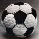 W317 Crochet PATTERN ONLY Soccer Ball Pattern