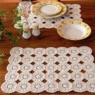 W325 Crochet PATTERN ONLY Round Motif Place Mats Placemats Pattern