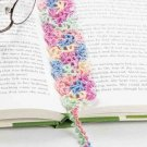 W334 Crochet PATTERN ONLY Floral Lace Bookmark Pattern