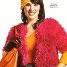 X207 Crochet PATTERN ONLY Shoppers Dream Shrug & Mango Cloche Hat Pattern