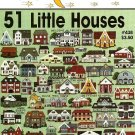 W082 Cross Stitch PATTERN Book ONLY Jeanette Crews 51 Little Houses Charts One Nighte