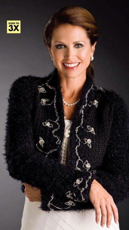 X173 Crochet PATTERN ONLY Black & White Elegant Holiday Cardigan & Velvet Scarf