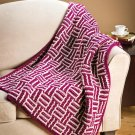 W121 Crochet PATTERN ONLY Wrapped In Love Blanket Afghan Pattern