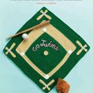 Y749 Crochet PATTERN ONLY Home Run Blanket Baseball Pattern