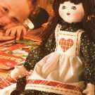 X764 Sewing PATTERN ONLY Soft Body Holiday Rag Doll Pattern