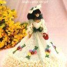 Y00 Crochet PATTERN ONLY Garden Party Gown & Hat Fashion Doll or Barbie