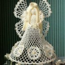 X653 Crochet PATTERN ONLY Christmas Seasonal Spirit Angel Tree Topper Pattern