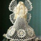 X653 Crochet PATTERN ONLY Christmas Seasonal Spirit Angel Tree Topper Pattern