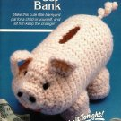 W199 Crochet PATTERN ONLY Piggy Bank Toy Pig Pattern