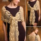 Y819 Crochet PATTERN ONLY Elegant Goddess Shawl Pattern