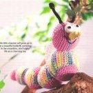 Y254 Crochet PATTERN ONLY Little Miss Caterpillar Doll Toy Pattern