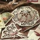 Y341 Crochet PATTERN ONLY Spring Hat & Fan Décor or Ornament Patterns