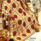 Y390 Crochet PATTERN ONLY Apple Harvest Afghan Pattern