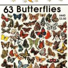 Y628 Cross Stitch PATTERN Book ONLY Jeanette Crews 63 Butterflies One Nighters