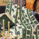 X869 Crochet PATTERN ONLY Morning Glory Afghan Pattern