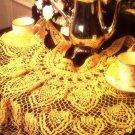 Y079 Crochet PATTERN ONLY Lacy Tea Apron Pattern