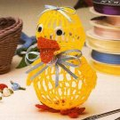 X123 Crochet PATTERN ONLY Duck Balloon Doll Ornament Pattern