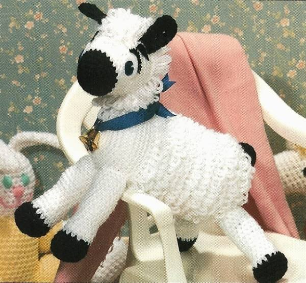 X804 Crochet PATTERN ONLY Mary�s Little Lamb Pattern Toy Animal