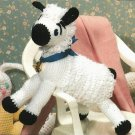 X804 Crochet PATTERN ONLY Mary's Little Lamb Pattern Toy Animal
