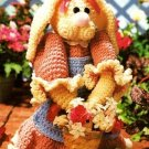 W096 Crochet PATTERN ONLY Elsbeth the Frilly Bunny Rabbit Doll Pattern
