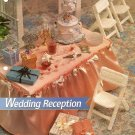 Y514 Plastic Canvas PATTERN ONLY Wedding Reception Cake Chairs Gift Boxes Barbie