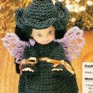 X597 Crochet PATTERN ONLY Littlest Witch Doll Pattern Haloween