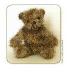 Y753 Crochet PATTERN ONLY Fuzzy Little Teddy Bear Pattern Toy Doll