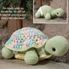 W036 Crochet PATTERN ONLY Baby Misty Turtle w/Diaper Toy Doll Legs Move Pattern