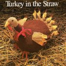 Y424 Crochet PATTERN ONLY Thanksgiving Turkey Centerpiece Pattern