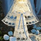 X763 Crochet PATTERN ONLY Bride Angel Doll Wedding or Christmas Ornament