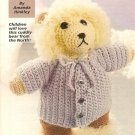 X478 Crochet PATTERN ONLY Snowflake Eskimo Bear Doll Pattern