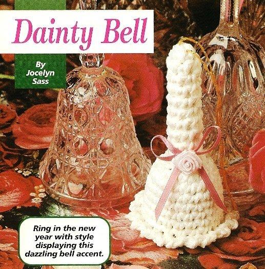 X834 Crochet PATTERN ONLY Dainty Little Bell Pattern