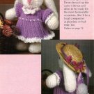 X695 Crochet PATTERN ONLY Taffy Bunny Rabbit Toy Doll Pattern