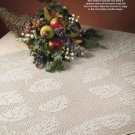 Y836 Crochet PATTERN ONLY Autumn Leaves Table Topper Pattern