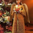 Y563 Crochet PATTERN ONLY Autumn Harvest Fashion Doll Angel Patterns