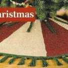 X199 Crochet PATTERN ONLY Country Christmas Tree Skirt Pattern