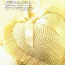 X496 Crochet PATTERN ONLY Heart & Ribbon Pillow Pattern from the Past Pattern