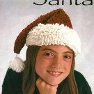 X765 Crochet PATTERN ONLY Chenille Santa Hat Pattern