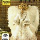Y402 Crochet PATTERN ONLY Singing Angel Fashion Doll Barbie Dress Wings Pattern