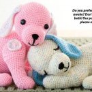 X250 Crochet PATTERN ONLY 2 Puppy Love Stuffed Animal Toy Pattern & Bonus