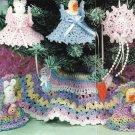 X190 Crochet PATTERN ONLY Easter Tree Pattern Duck, Bunny, Tree Skirt Ornaments