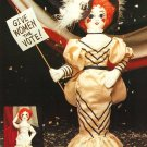 X213 Sewing PATTERN ONLY Soft Body Gibson Girl Doll & Clothes Pattern