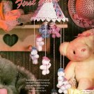 W020 Crochet PATTERN ONLY Lovely Baby Bear Mobile Pattern