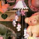 W020 Crochet PATTERN ONLY Lovely Baby Bear Mobile Pattern