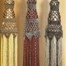 Y348 Bead PATTERN ONLY Elegant Beaded Timeless Tassel Tiebacks Pattern