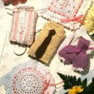 X512 Crochet PATTERN ONLY Sensational Sachets Bloomers Shirt & Tie Bloomers