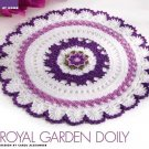X752 Crochet PATTERN ONLY Royal Garden Doily