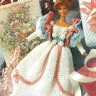 X568 Crochet PATTERN ONLY 1890's Fashion Doll Party Gown Pattern Rare