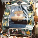 Y050 Crochet PATTERN ONLY Noah's Ark Baby Afghan -Lots of Detail!