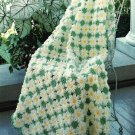 X871 Crochet PATTERN ONLY Daisies, Morning Glories, Kittens 3 Afghans